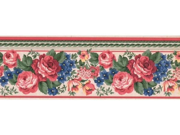 Floral Wallpaper Borders Border Fr851b