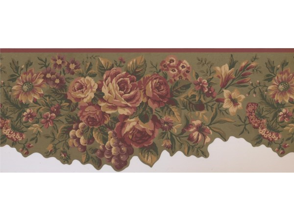 Floral Wallpaper Borders Border 5112 Au