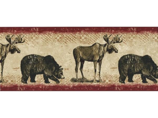 Animal Wallpaper Borders Bears And Dears