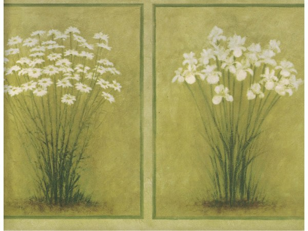 Floral Wallpaper Borders Flower Border Sb10306b