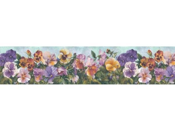Floral Wallpaper Borders Border B28974
