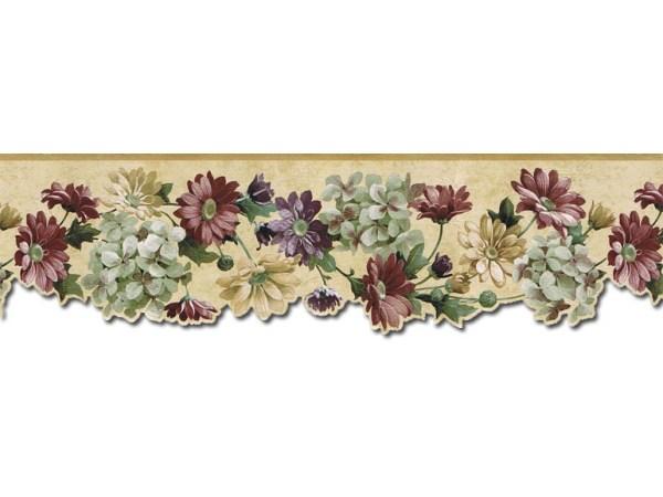 Floral Borders Wallpaper Border B75751