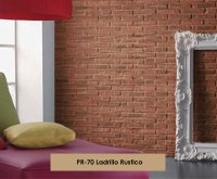 red rustic brick fake red brick wall false brick wall ...