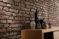 fake brick wall panels | Dreamwall wallcoverings with a ...