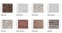 white brick panels | Dreamwall wallcoverings with a difference