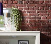 fake brick panels | Dreamwall wallcoverings with a difference