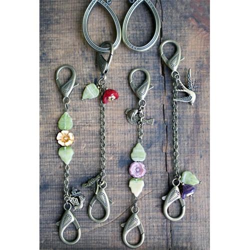 Springtime Bird Scissor Chain, Dream Weaver Yarns LLC