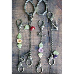 Springtime Bird Scissor Chains