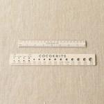 Add Cocoknits Ruler & Gauge Set (+$15.00)