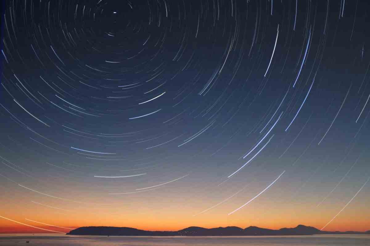 photo of night sky
