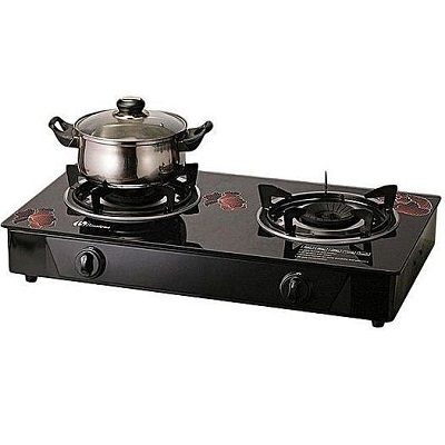 Binatone Table Top Glass Gas Cooker GGC-0002