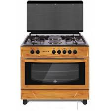 LG Gas Cooker With 2 Electric Plate