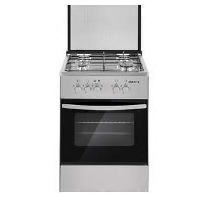 LG Gas Cooker Table Top 4 Burners MAXI 50504B INOX Basic