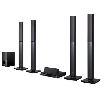 LG DVD Home Theatre System - AUD 457