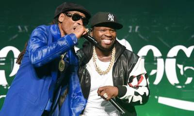 """""""Snoop Dogg Is Not Gonna Stop Smoking Weed"""" - 50 Cent Says"""