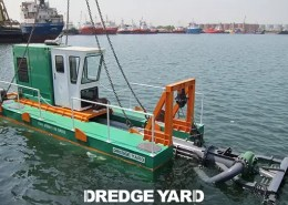 Dredge Yard delivers the Auger dredger