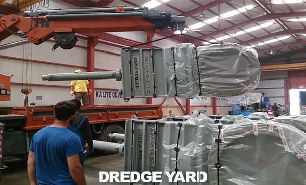 Dredge valve production by Dredge Yard