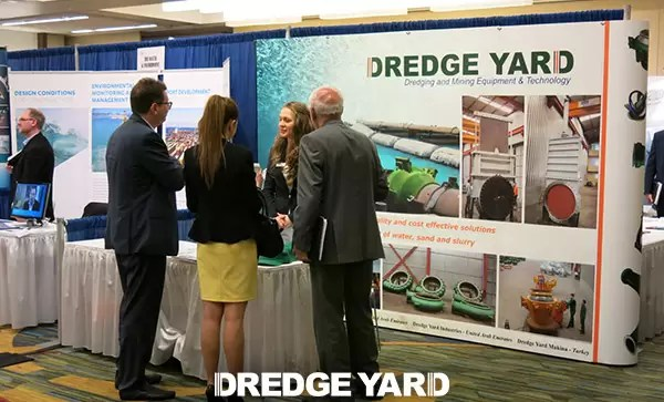 Dredge Yard in Dredging Summit & Expo 2014 of WEDA