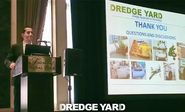EXCLUSIVE: Dredge Yard attended WEDA in Houston