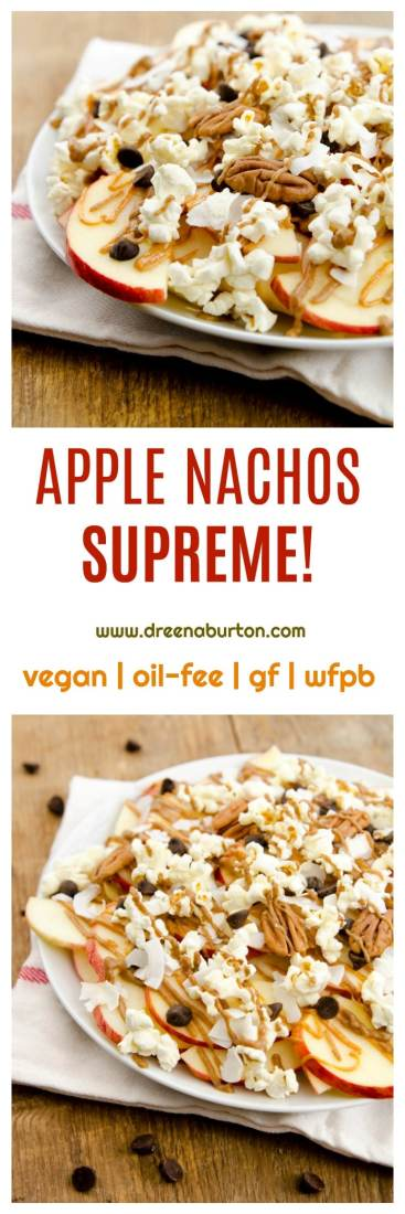 Apple Nachos SUPREME!