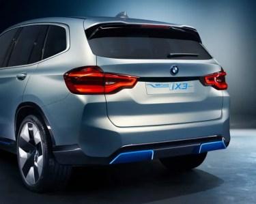 Heckansicht des BMW Concept iX3