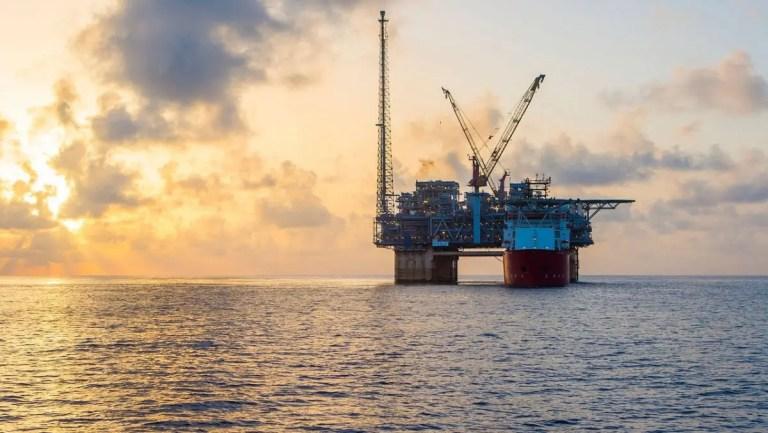BP's Na Kika platform in the Gulf of Mexico