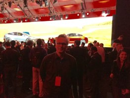 Dirk Kunde nach der Model 3 Präsentation