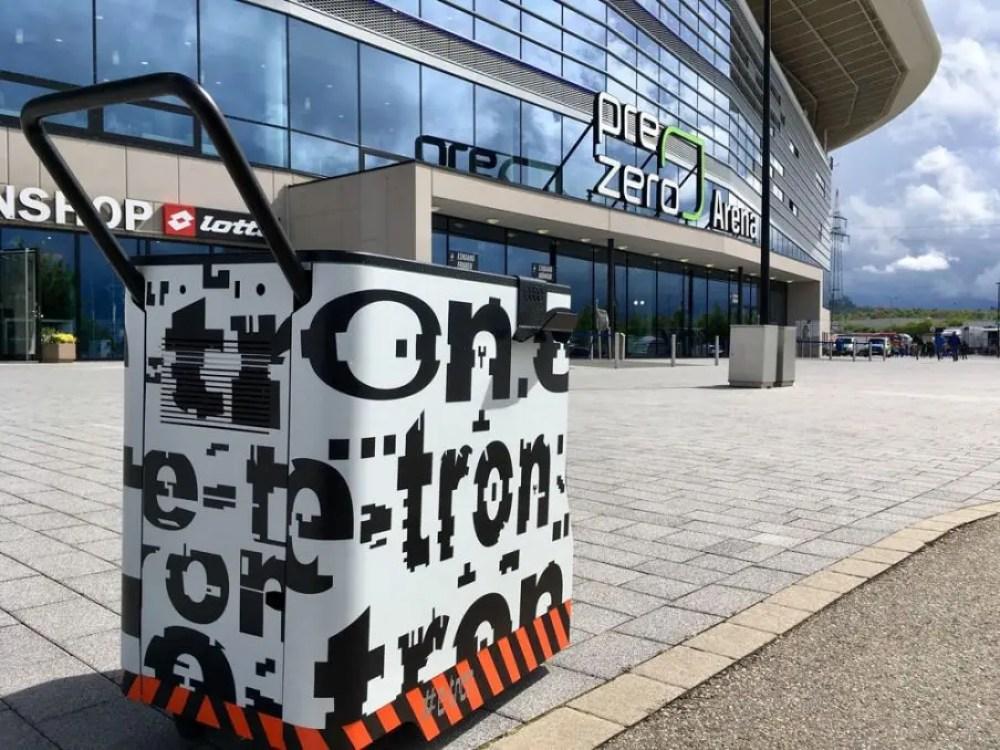 ParkE von Audi am Hoffenheim Stadion
