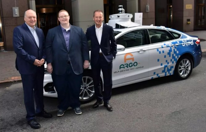 Ford Volkswagen Argo AI