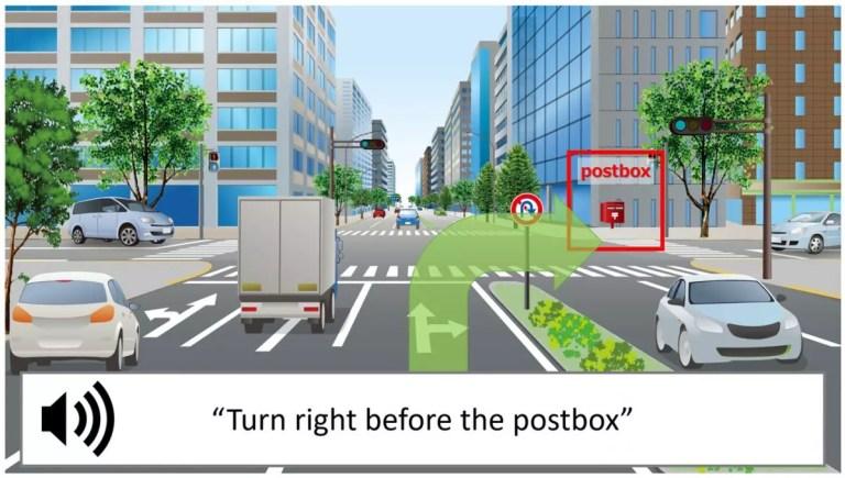 Navigation mit Objekterkennung