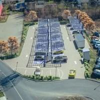 EnBW baut Europas größten Ladepark am Kamener Kreuz
