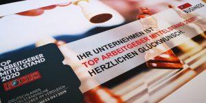 Top-Arbeitgeber Mittelstand 2020 🏆