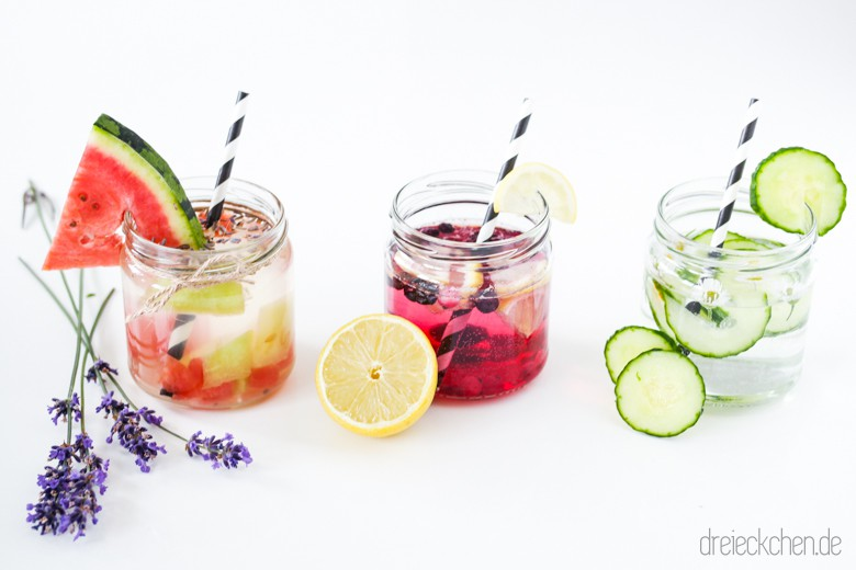 Infused Water Rezept