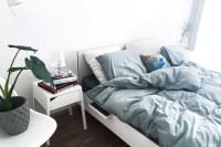 Schlafzimmer im skandinavischen Stil - neu eingerichtet ...