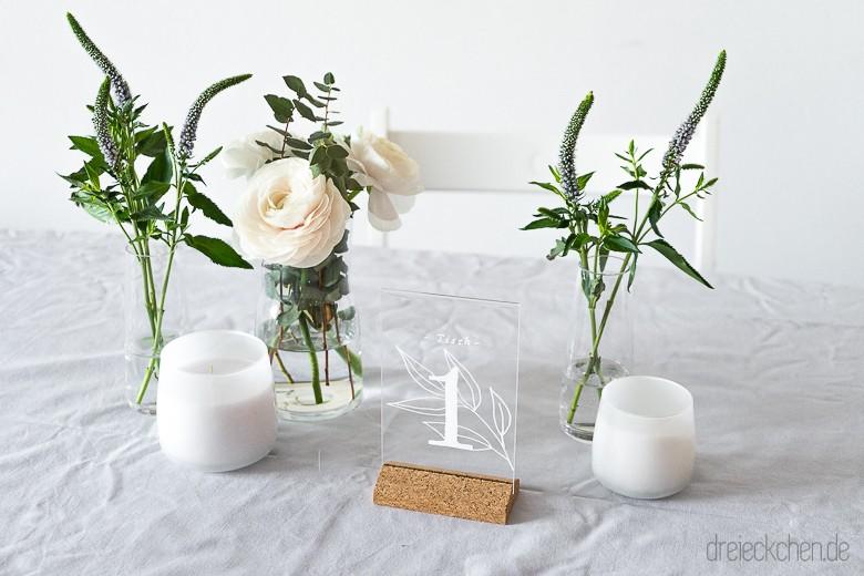 Habt ihr eure Tischdeko fr eure Hochzeit geplant Fr welche