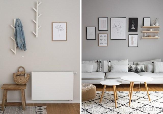 Wohnideen mit neuer Wandfarbe: Tipps zum Garderobe und ...