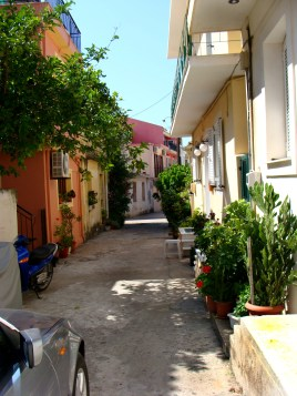 typical street in Lixouri