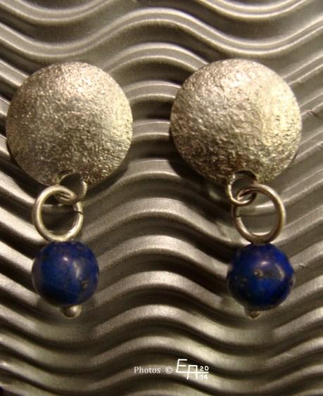 lapis lazuli, earrings