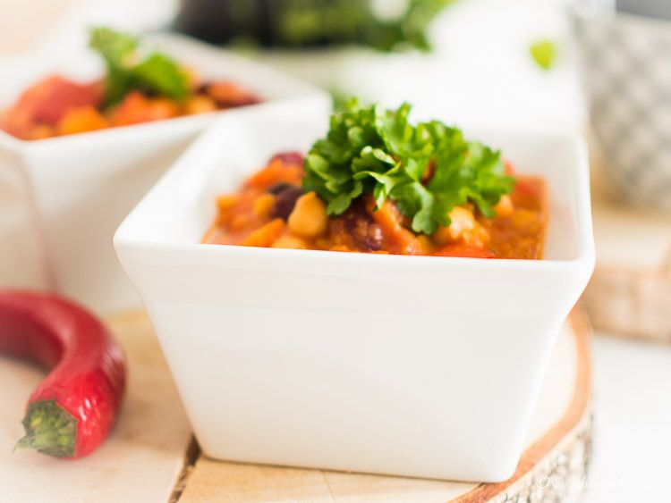 vegetarisches Linsen Chili