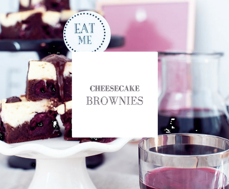 Rezept für Cheesecake Brownies im dreiraumhaus