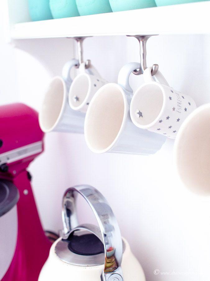 living k chenorganisation in einer ikea k che und diy farrow ball. Black Bedroom Furniture Sets. Home Design Ideas