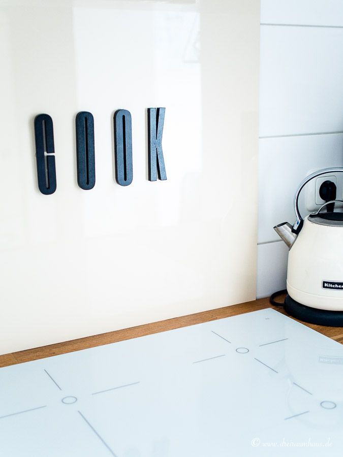 LIVING: Ein 5 Minuten DIY für eine hübsche Küchenrückwand!