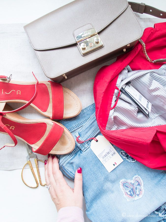 Warum Shopping bei KARSTADT Leipzig ein echtes Erlebnis ist...ich trage jetzt rote Schuhe und eine Jeans mit Schmetterlingen!