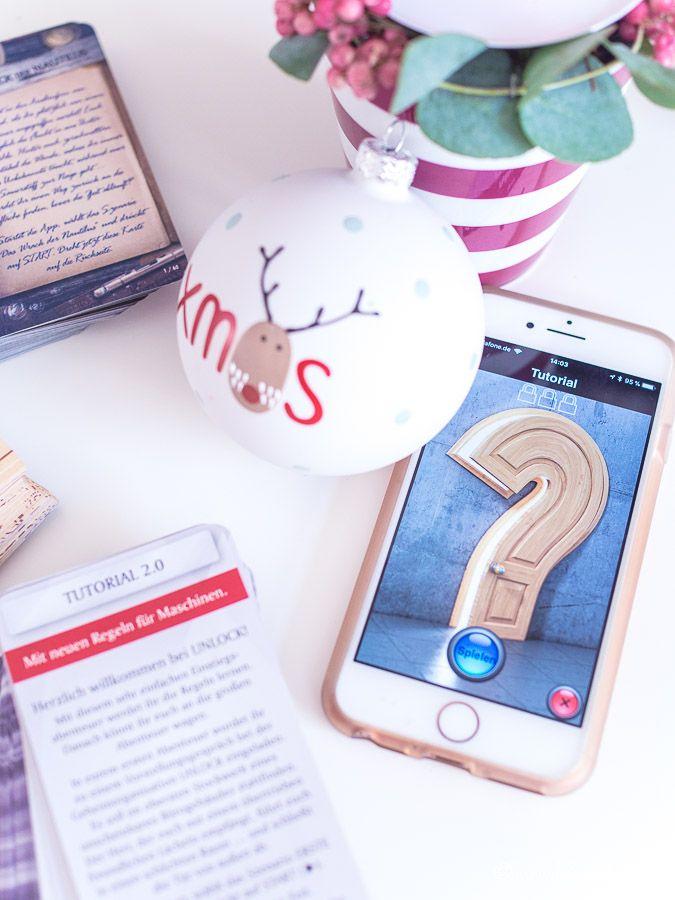 Geschenkeguide Weihnachten: Wie wäre es mit einem Escape-Room für Zuhause? Unlock 2 von Asmodee!