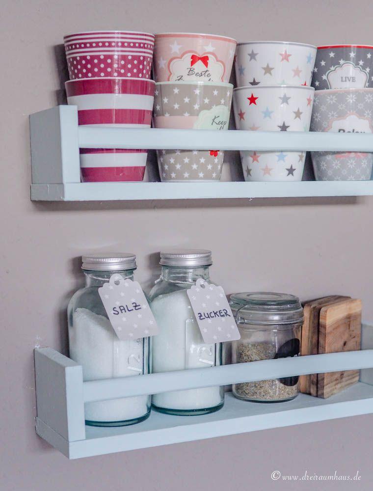 Wie Du Deiner Küche Gemütlichkeit und Individualität verleihen kannst - die Umgestaltung meiner IKEA Metod Hittarp Landhausküche! Küchenplanung leicht gemacht!
