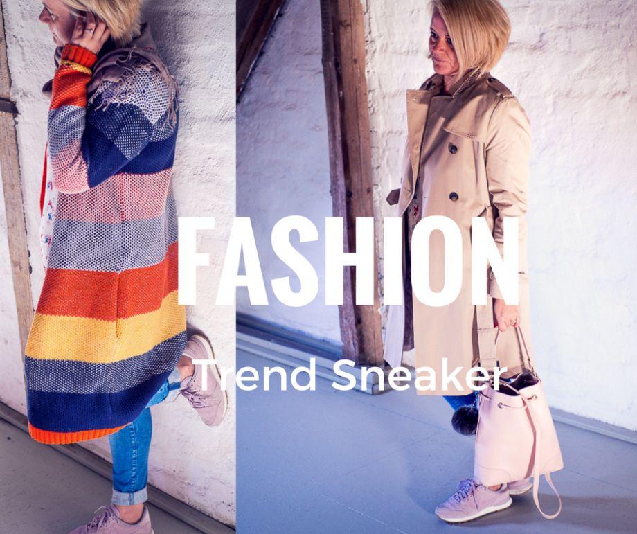 Lasst uns ausgehen! Sneaker Trend in Rosa, Lieblingsstrickjacken und der schönste Trenchcoat mit der OTTO Style Challenge!