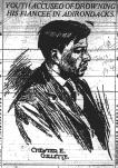 Chester Gillette under arrest - The World (NY) 7-18-1906