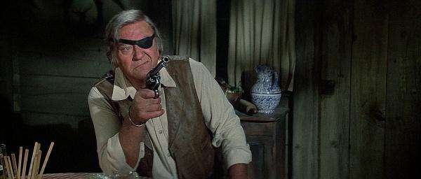 Rooster Cogburn (John Wayne) dans 100 Dollars pour un shérif
