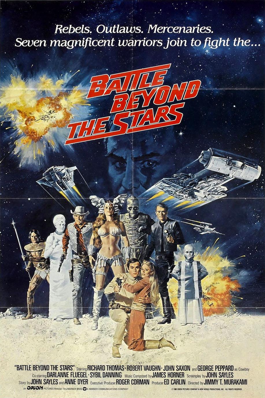 Les Mercenaires De L'espace 1980 : mercenaires, l'espace, Mercenaires, L'espace, (Battle, Beyond, Stars)