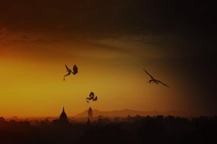 Dragons, by Skylife81. Courtesy of Pixabay.